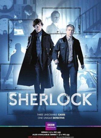 Скачать сериал Шерлок [2 сезон] (2012) HDTVRip