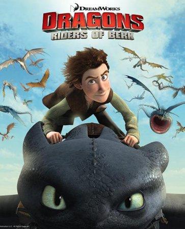 Скачать Драконы: Всадники Олуха (1 сезон) (2012)