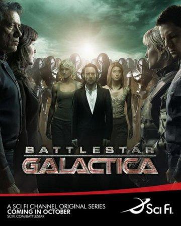 Скачать сериал Звездный крейсер Галактика (1 сезон) / Battlestar Galactica  ...