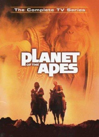 Скачать сериал Планета Обезьян / Planet of the Apes [1974] DVDRip