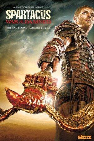 Скачать сериал Спартак. Война проклятых (4 сезон) / Spartacus. War of the D ...