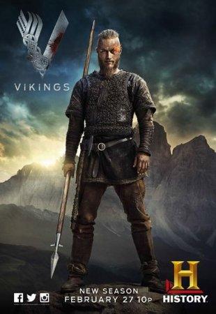 Скачать сериал Викинги / Vikings - 2 сезон (2014)