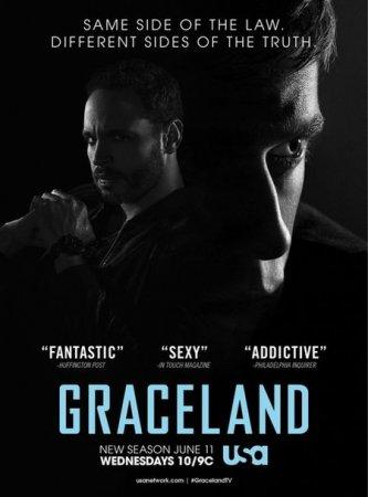 Скачать сериал Грейсленд / Graceland - 2 сезон (2014)
