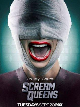 Скачать сериал Королевы крика / Scream Queens - 2 сезон (2016)
