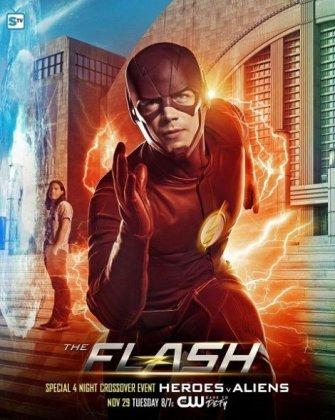 Скачать сериал Вспышка / Флэш / The Flash - 4 сезон (2017)