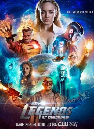 Скачать сериал Легенды завтрашнего дня (3 сезон) / DC's Legends of Tomorro ...