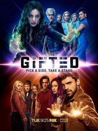 Скачать сериал Одаренные (2 сезон) / The Gifted [2018]