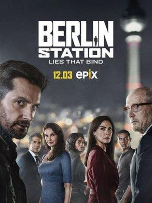 Скачать сериал Берлинский отдел (3 сезон) / Berlin Station 3 [2018]