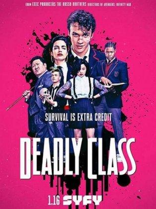 Скачать сериал Убийственный класс / Deadly Class [2019]