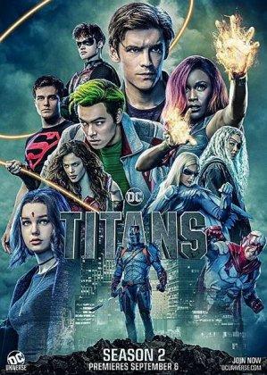 Скачать сериал Титаны (2 сезон) / Titans [2019]